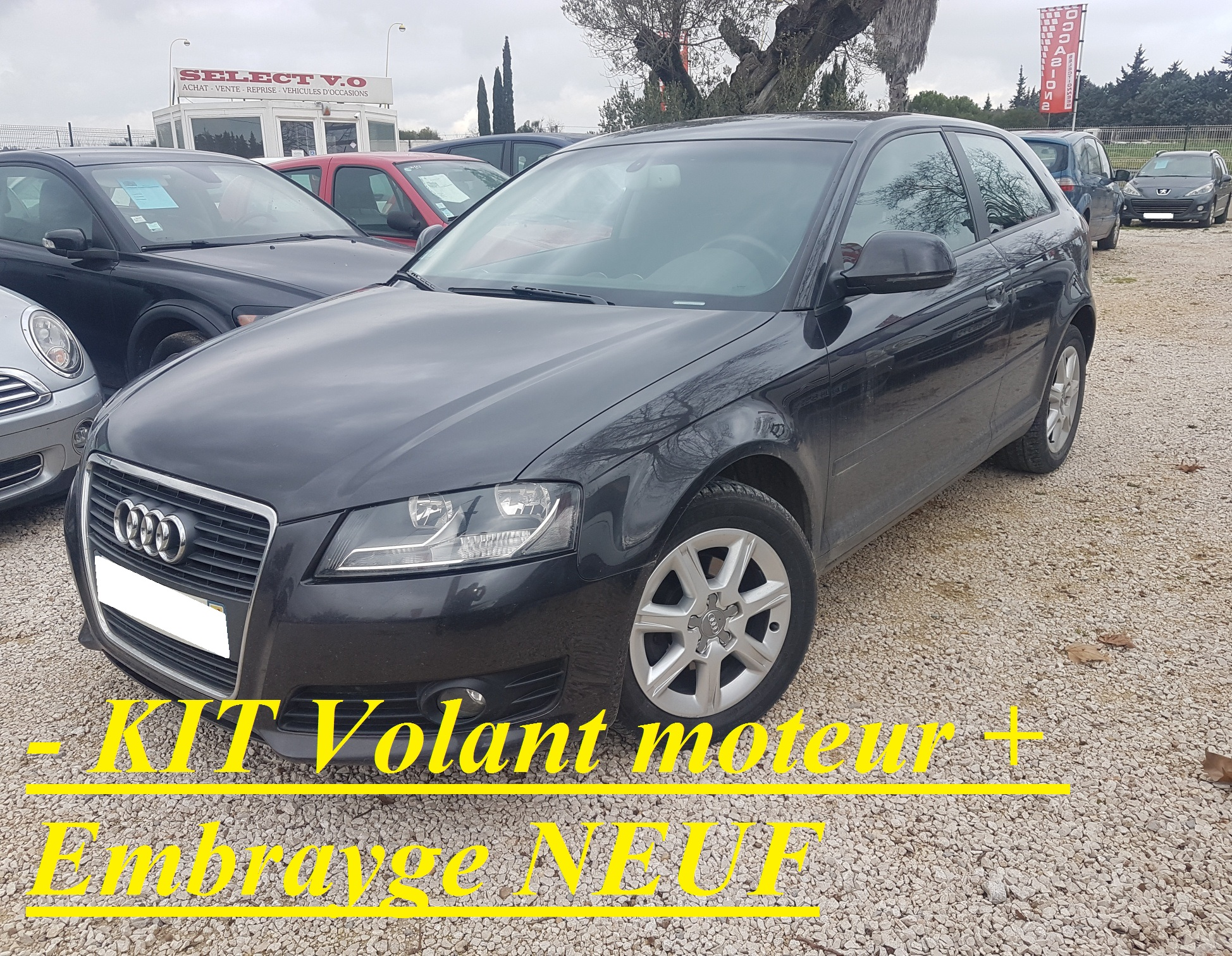 voiture audi a3 a3 1 6 tdi 105 dpf ambition luxe occasion diesel 2010 190615 km 7490. Black Bedroom Furniture Sets. Home Design Ideas